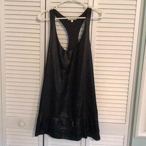 7 for all mankind black tank dress (M)